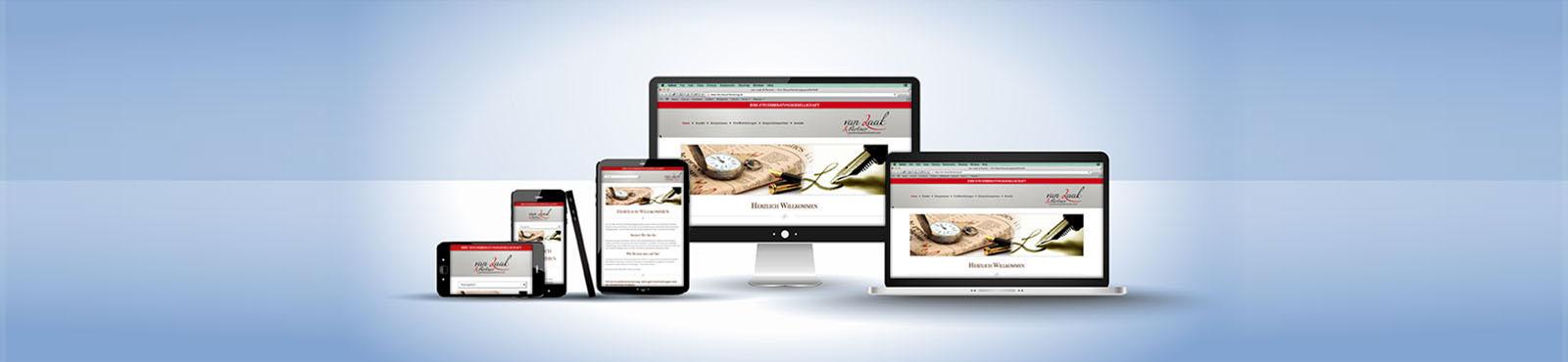 Webdesign für Kanzleien